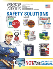 Rutke Signs Safety Solutions and Safety Identification Products Catalog