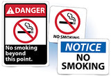 No Smoking Signs | www.signslabelsandtags.com