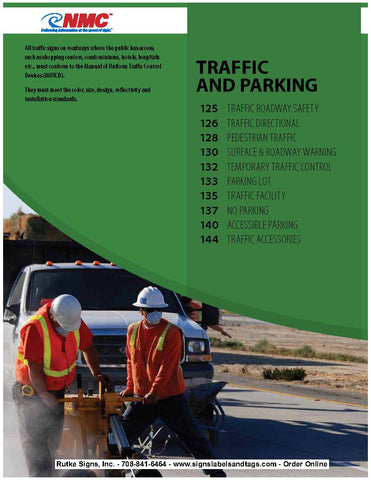 Traffic and Parking Catalog Page