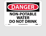 Potable Water Signs | www.signslabelsandtags.com