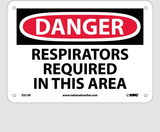 Respirator Protection Signs | www.signslabelsandtags.com