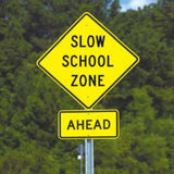 School and Pedestrian Signs | www.signslabelsandtags.com