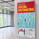 Social Distancing Posters | www.signslabelsandtags.com