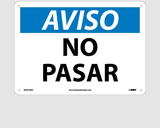 Spanish Notice Signs | www.signslabelsandtags.com