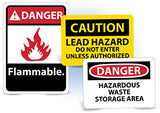 National Marker Chemical and HazMat Signs