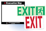 National Marker Fire and Exit Signs Distributed By Rutke Signs Home of www.signslabelsandtags.com