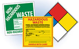 National Marker Hazard Labels