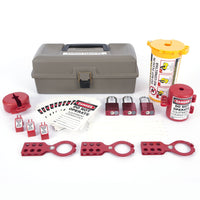 "Lockout Toolbox Kit With Aluminum Locks | 2734 | 13""W x 6.5""H x 5""D 