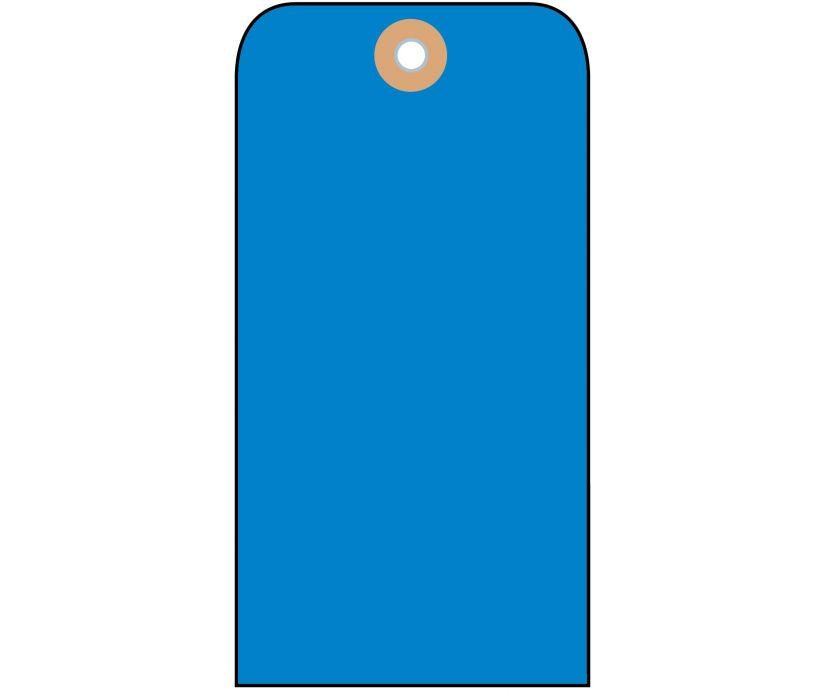 TAGS, BLANK, LT. BLUE, 2 1/8X4 1/4, CARDSTOCK