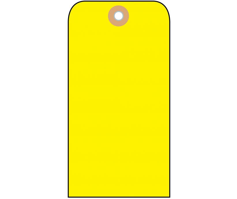 TAGS, BLANK, YELLOW, 2 1/8X4 1/4, CARDSTOCK