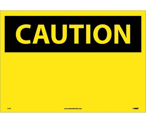 CAUTION, (HEADER ONLY), 14X20, PS VINYL