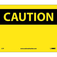 CAUTION, (HEADER ONLY), 7X10. PS VINYL