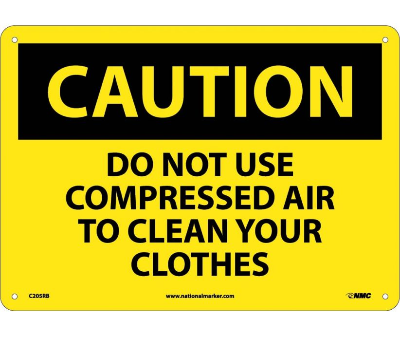 CAUTION, DO NOT USE COMPRESSED AIR TO CLEAN YOUR. . ., 10X14, RIGID PLASTIC