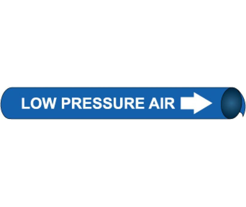 PIPEMARKER PRECOILED, LOW PRESSURE AIR W/B, FITS 2 1/2