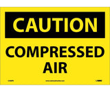 Compressed Air: OSHA Caution Header Signs (C438) By National Marker