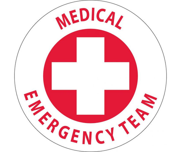 Medical Emergency Team Personnel/ID Safety Labels | HH48 | Different Materils