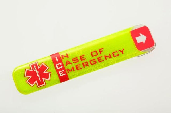 In Case Of Emergency Ice Hard Hat Label | HH205