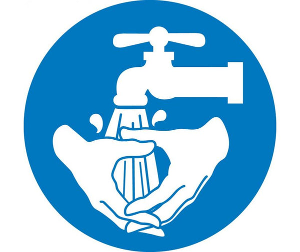 Handwash Symbol Safety Labels | Different SIzes