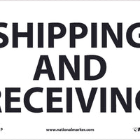 SHIPPING AND RECEIVING, 7X10, .0045 PRESSURE SENSITIVE VINYL