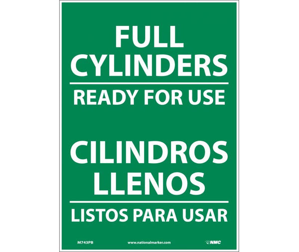 M743 National Marker Bilingual English and Spanish Signs Full Cylinders Ready For Use