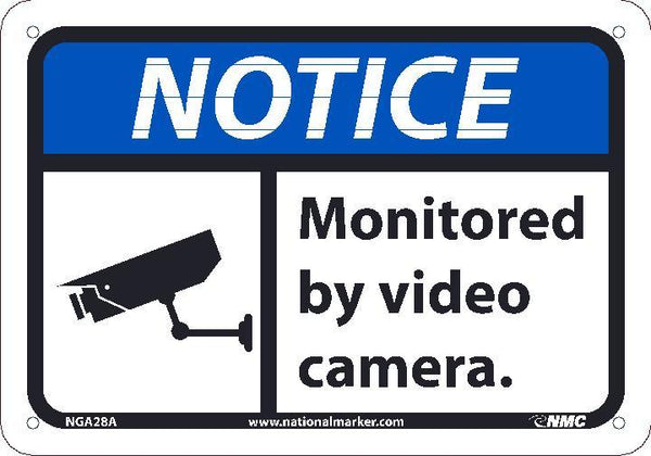 NGA28 National Marker Notice Header Monitored By Video Camera