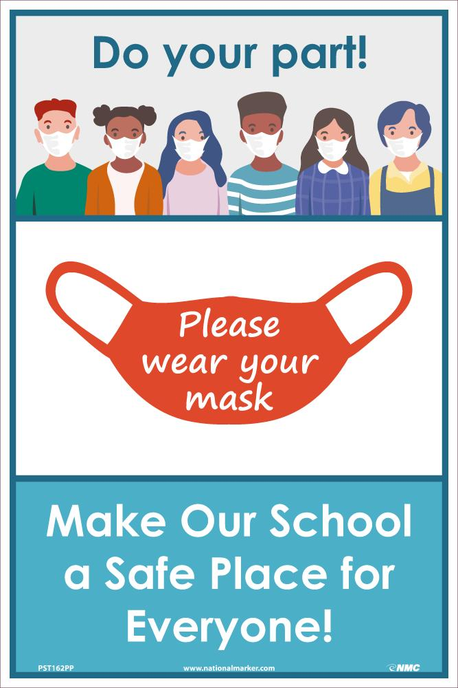 Do Your Part Please Wear Your Mask Safety Posters | PST162PP | 18