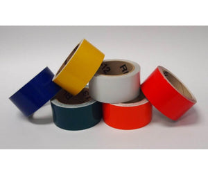 "TAPE, REFLECTIVE, RED, 2""X50 YD"