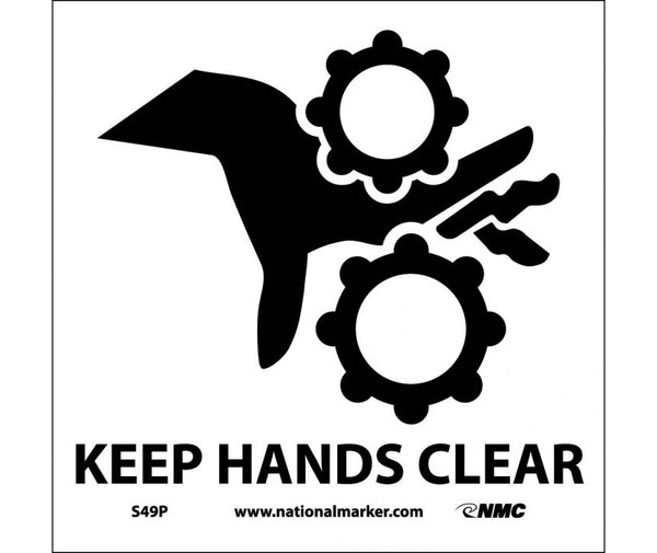 KEEP HANDS CLEAR (W/GRAPHIC), 7X7, PS VINYL