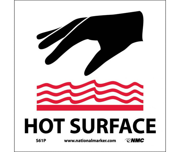 HOT SURFACE (W/GRAPHIC), 7X7, PS VINYL