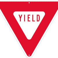 YIELD, TRIANGLE, 24 IN, .080 EGP REF ALUM SIGN