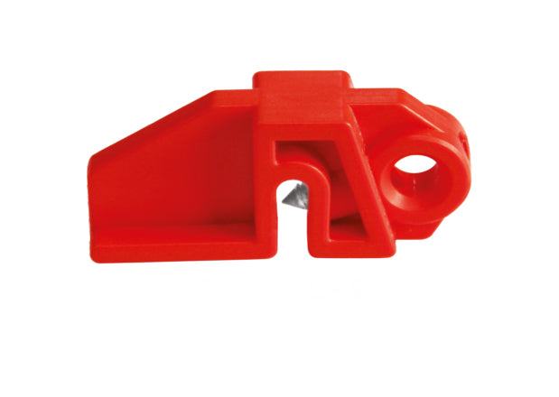 Universal Fuse Holder Lockout, Slim, Red