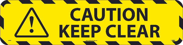 Caution Keep Clear Anti-Slip Cleats | WFS50 | 6