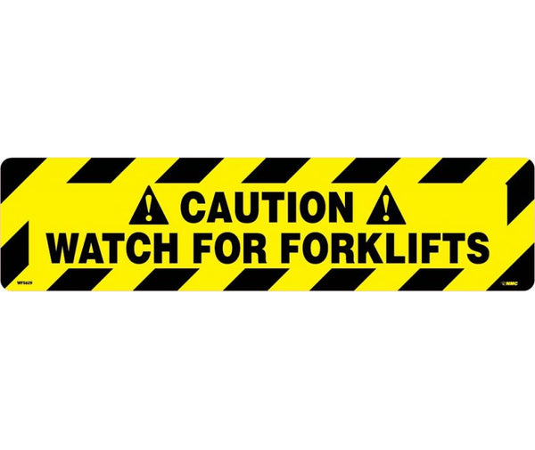 Caution Watch For Forklifts Anti-Slip Cleats | WFS629 | 6