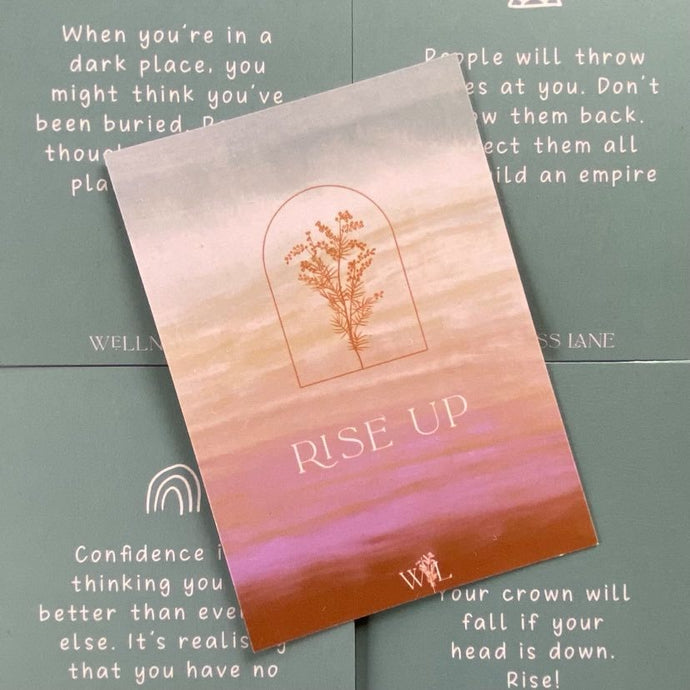 Rise Up Card Deck