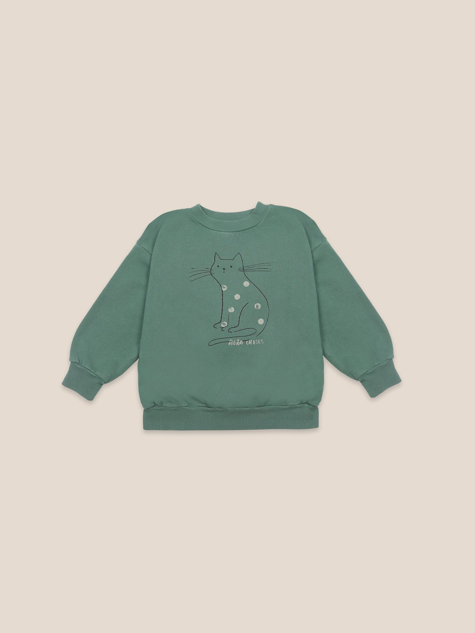 Cat Sweatshirt Bobo Choses