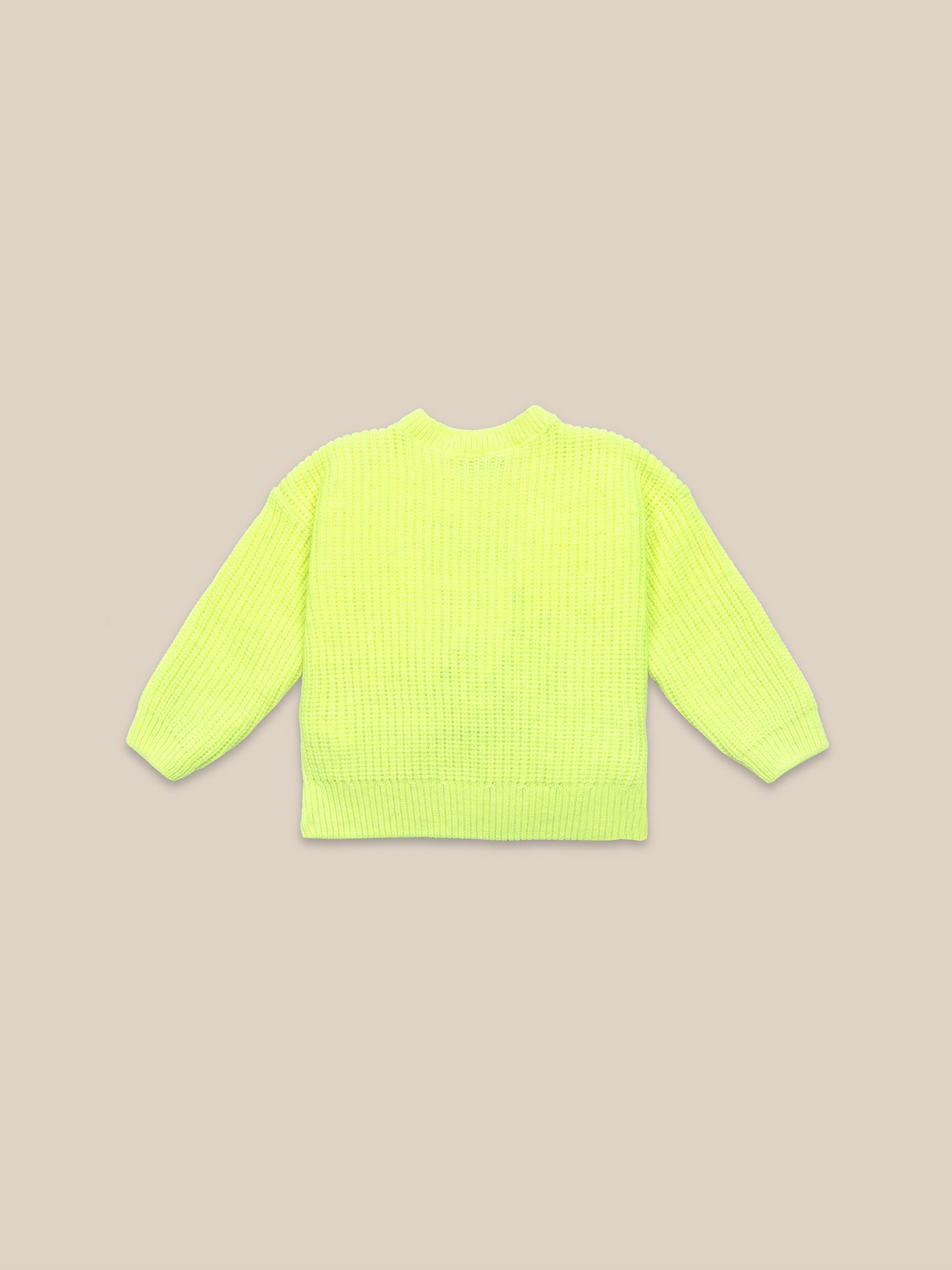 Cat Yellow Jumper