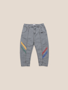 Multicolor Denim Trousers