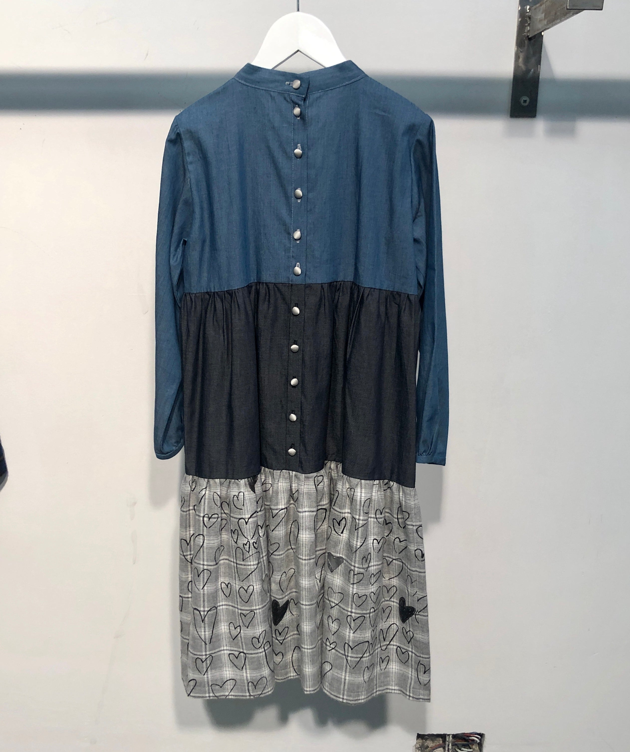Tago Dress Indigo