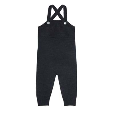 Baby Overall Charcoal FUB