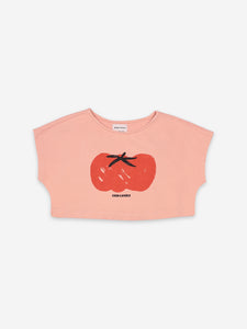 Bobo Choses Tomato Cropped Sweat shirt