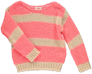 Angel Knitted Jumper Pink