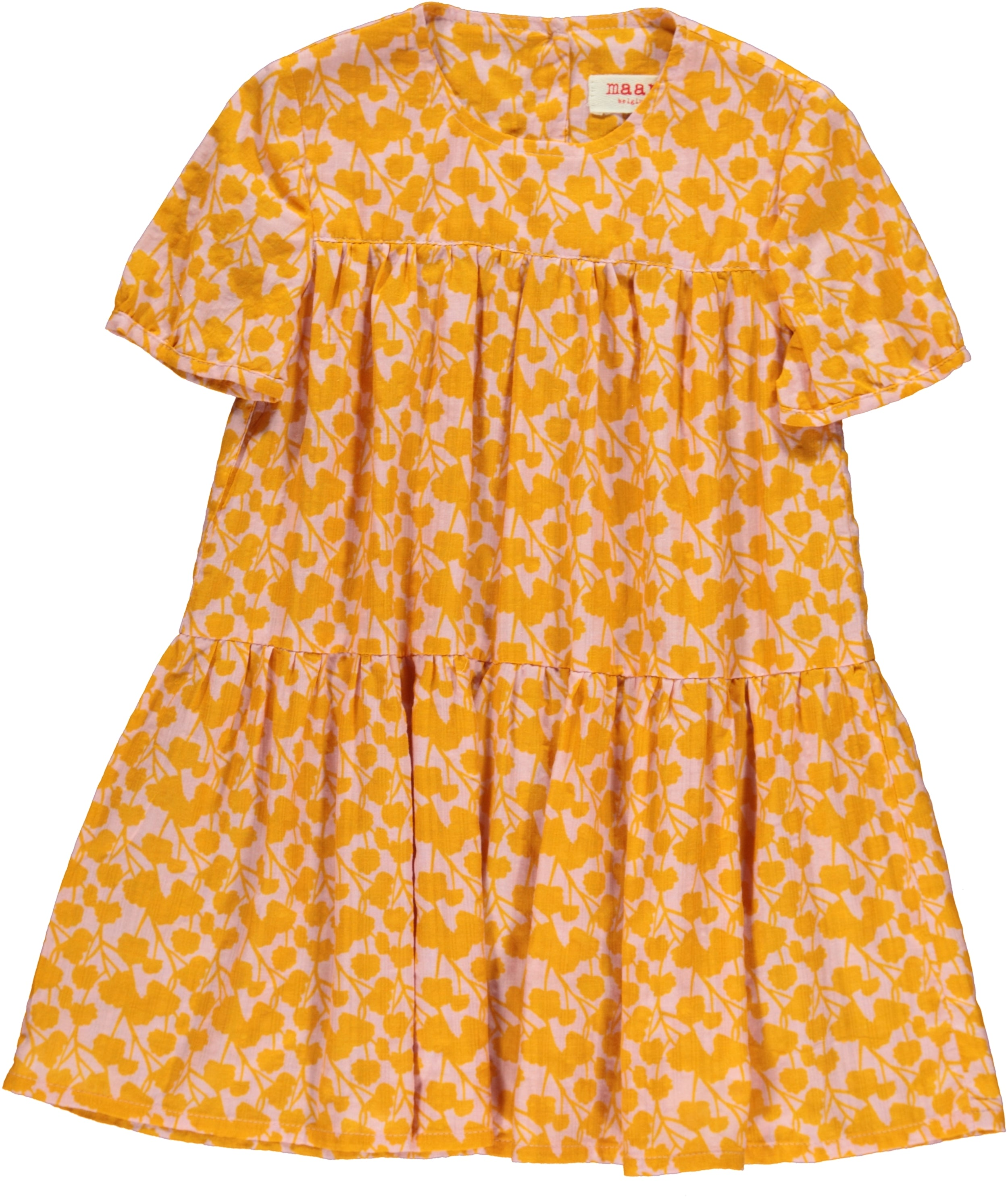 Rain Woven Dress Yellow