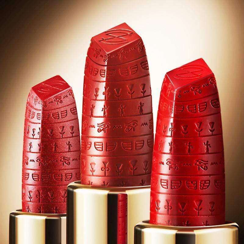 Cleopatra Luxury Satin Lipstick-Limited Edition Engraving Series 1-ZEESEA-THE ART OF COLOUR