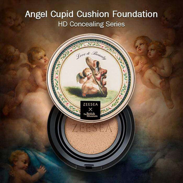 Angel Cupid Cushion Foundation-HD Concealing Series-ZEESEA-THE ART OF COLOUR
