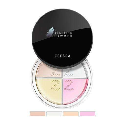 Four-Square Color Sheer Powder-ZEESEA-THE ART OF COLOUR