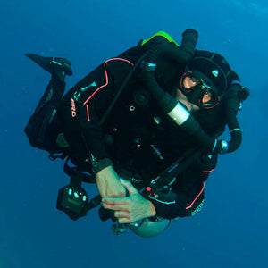 PADI Tec 40 CCR Diver | Darkside Technical