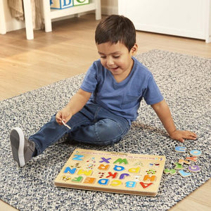 Melissa & Doug - See & Hear Sound Puzzle - Alphabet