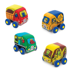 Melissa & Doug - Pull Back Construction Vehicles