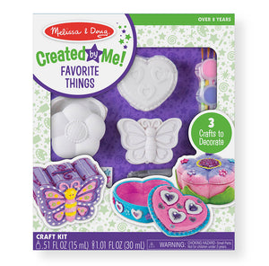 Melissa & Doug - Created by Me! Favorite Things Craft Kit