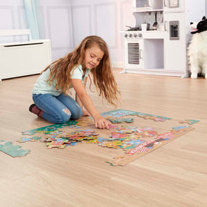 Melissa & Doug - Natural Play Floor Puzzle: America the Beautiful